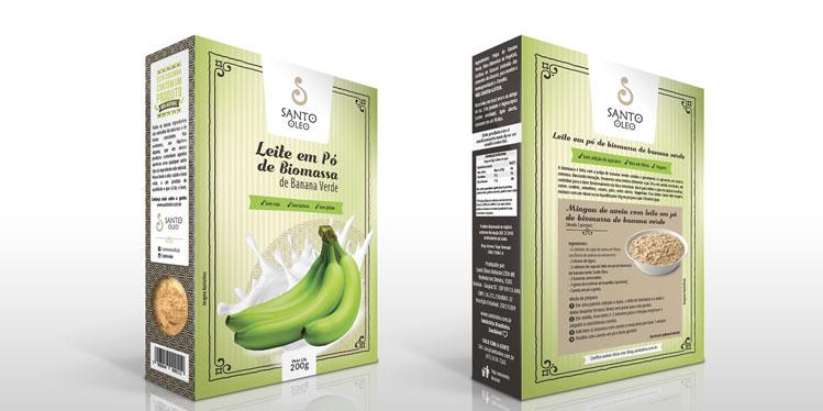 Mingau de Quinoa com Leite de Biomassa de Banana Verde