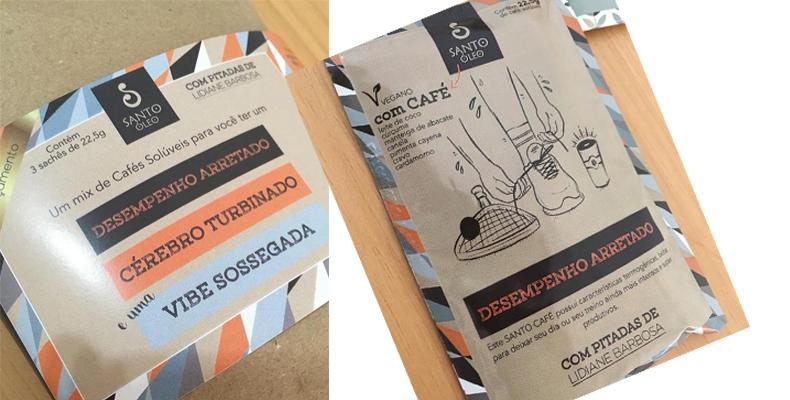 Café solúvel Vegano