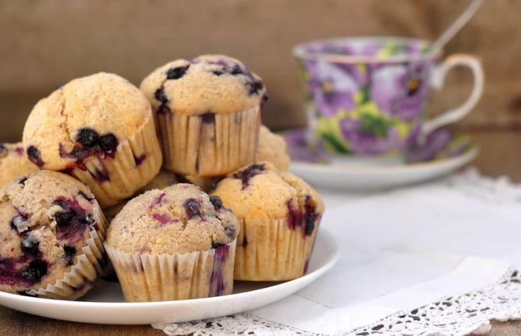 Receita de muffin vegano de banana