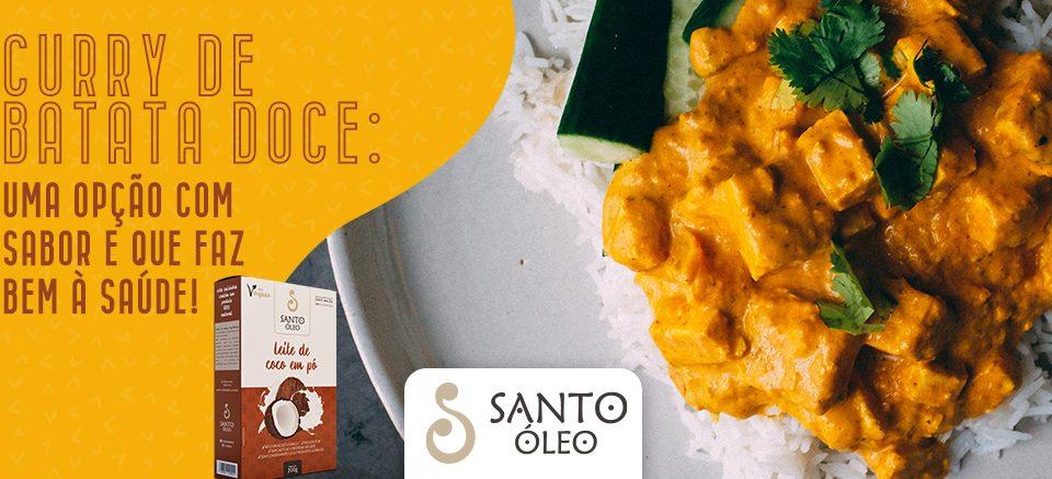 Curry de batata doce: uma opção com sabor e que faz bem à saúde!